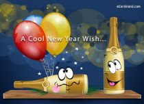 Free eCards - A Cool New Year Wish,