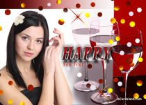 Free eCards - A Year Of Happiness And Success,