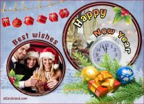 eCards New Year Best Wishes, Best Wishes