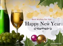 eCards New Year Best Wishes for You, Best Wishes for You