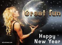 eCards New Year Great Fun, Great Fun