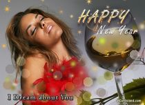 eCards New Year I Dream about You, I Dream about You