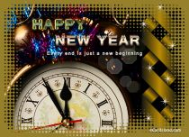 Free eCards - New Year Card,