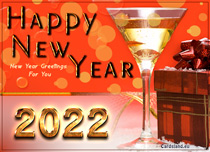 Free eCards - New Year Greetings For You,