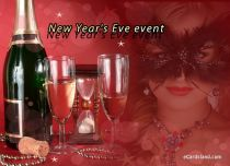 Free eCards - New Year's Eve event,