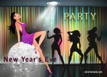 eCards  New Year's Eve Party,