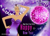 Free eCards - New Year's Eve Party,