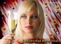 Free eCards - Successful New Year 2020,
