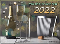 eCards  Welcome the New Year 2020,
