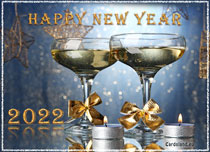 eCards New Year Wish For A Happy 2020, Wish For A Happy 2020