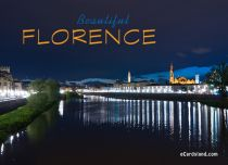 eCards Cities & Countries Beautiful Florence, Beautiful Florence
