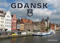 eCards Cities & Countries Gdansk, Gdansk
