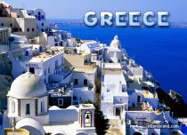 eCards Cities & Countries Greece Card, Greece Card