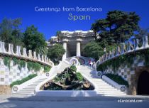 eCards Cities & Countries Greetings from Barcelona, Greetings from Barcelona