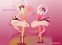 eCards Miscellaneous Ballerinas, Ballerinas
