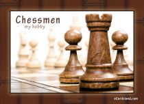 eCards Miscellaneous Chessmen, Chessmen
