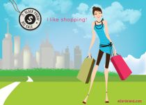Free eCards Miscellaneous - I Like Shopping,