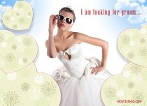 eCards Wedding I'm Looking for Groom, I'm Looking for Groom