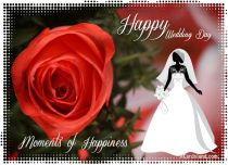 Free eCards Wedding - Moments of Happiness,