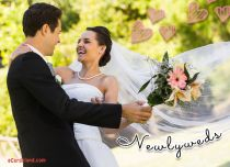 Free eCards Wedding - Newlyweds,