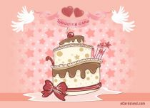 Free eCards Wedding - Wedding Cake,