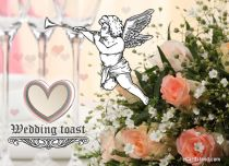 Free eCards Wedding - Wedding Toast,