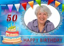 eCards  50th Birthday Celebration,