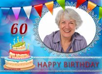 eCards  60th Birthday Celebration,