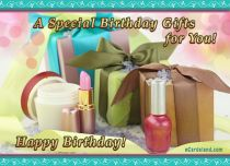 Free eCards - A Special Birthday Gifts,