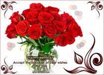 eCards - Accept the Bouquet of best Wishes,