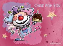 Free eCards, Birthday e card - Birthday Cake for You,