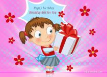 eCards Birthday Birthday Gift, Birthday Gift