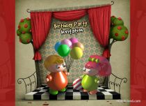 Free eCards - Birthday Party Invitation,