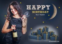 Free eCards - Birthday Toasts,