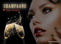 Free eCards - Champagne Happy Birthday,