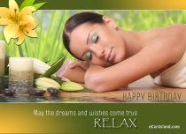eCards Birthday Dreams and Desires, Dreams and Desires