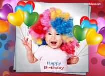 Free eCards, Birthday cards free - Happy Birthday Balloons,