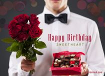 eCards Birthday Happy Birthday Sweetheart, Happy Birthday Sweetheart