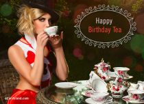 eCards Birthday Happy Birthday Tea, Happy Birthday Tea