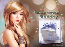 Free eCards - Have a Magical Birthday,