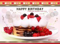 eCards Birthday I Wish Your Dreams Come True, I Wish Your Dreams Come True