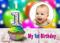 Free eCards - My 1st Birthday,