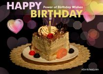 eCards  Power of Birthday Wishes,