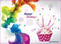 Free eCards - Rainbow Birthday,