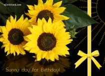 eCards Birthday Sunny day for Birthday, Sunny day for Birthday