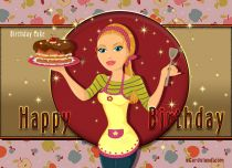 eCards Birthday Sweet Birthday, Sweet Birthday