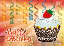 eCards Birthday Sweet Muffin, Sweet Muffin