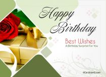 Free eCards, Birthday e card - Birthday Surprise,