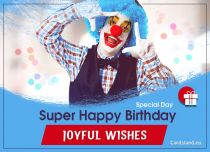 Free eCards, Birthday cards - Joyful Wishes,