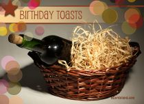 eCards  Birthday Toasts,